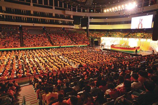 悟覺妙天禪師舉辦「地球佛國人人作佛」大法會