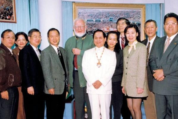 悟覺妙天禪師與丹麥國際宗教對話中心主任交流
