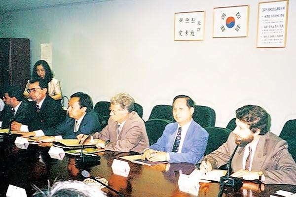 悟覺妙天禪師赴韓參加宗教文化會議