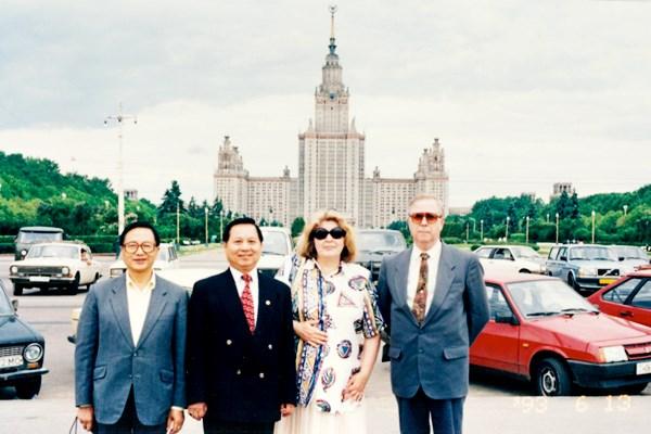 悟覺妙天禪師前往俄羅斯進行宗教文化及經貿訪問交流活動