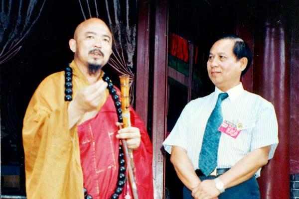 悟覺妙天禪師應浙江省政府邀請,前往當地進行宗教文化經貿交流訪問