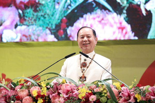「佛陀成佛正法與超生命禪」台中演講會,主遘人悟覺妙天禪師